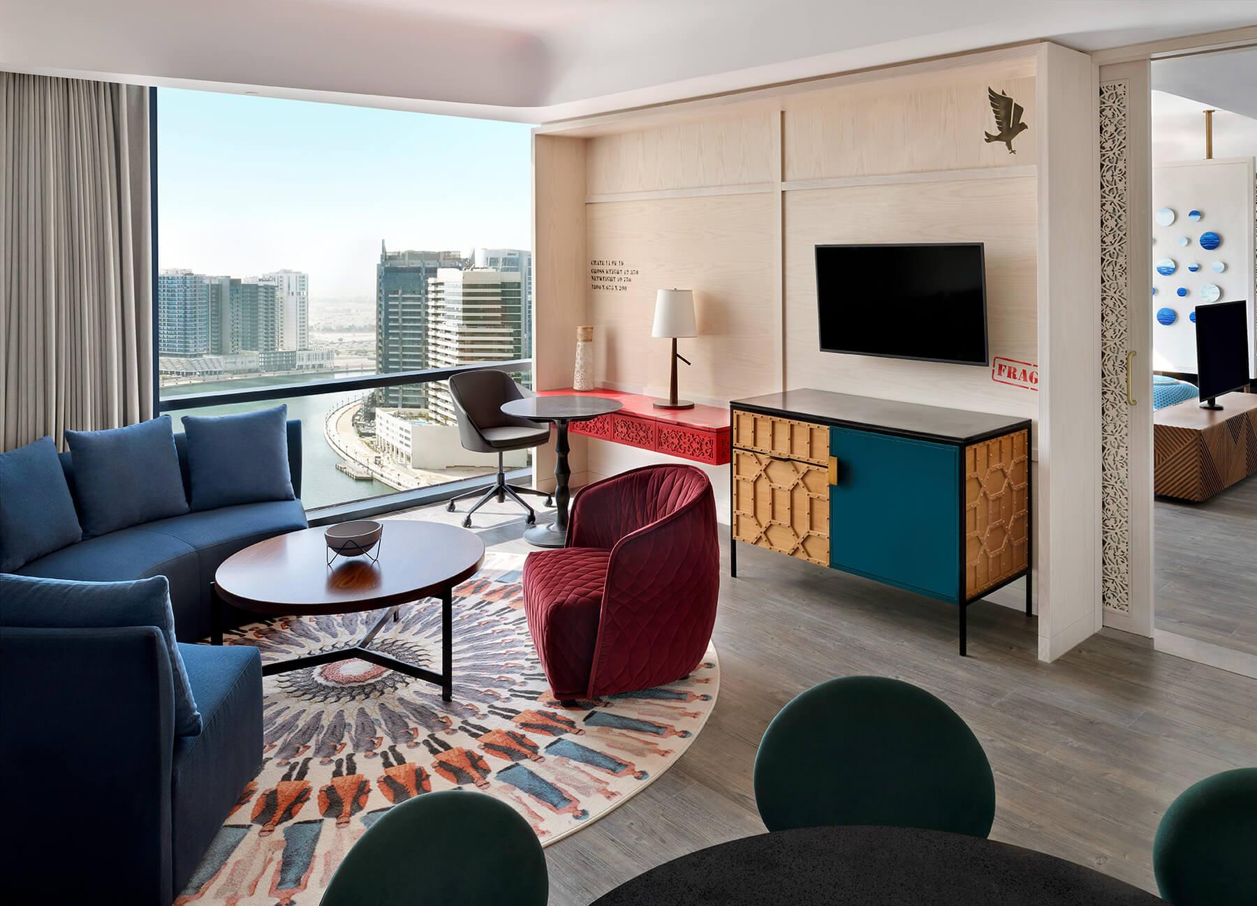SPECIAL MADE-Hotel Indigo Dubai Downtown-UAE
